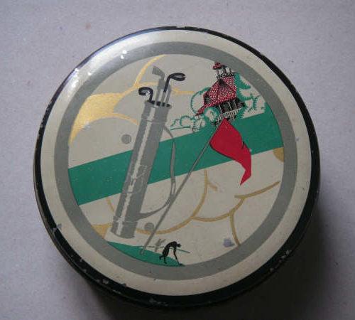 Vichy boîte pastilles golf