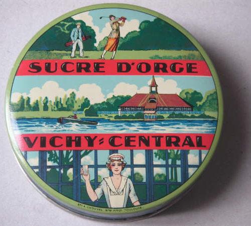 Vichy boîte pastilles 3 vues