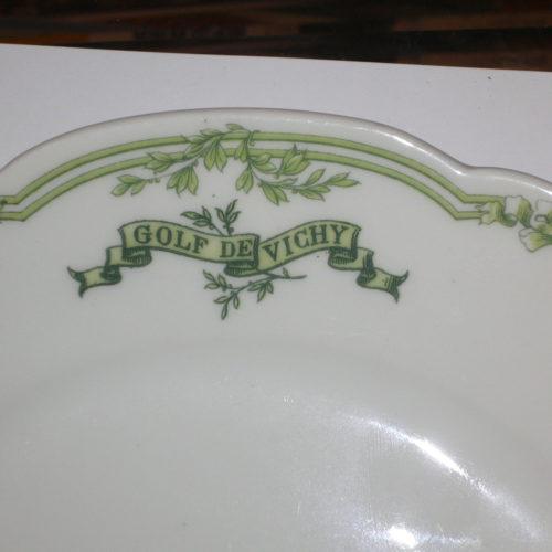 Assiette en Porcelaine
