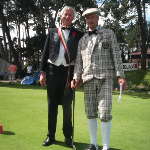 Mr le Maire et JMA