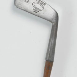"fer ""medium iron"" circa 1905 du fabricant écossais William Gibson à Kinhorn, Fife."