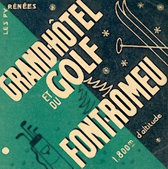 publicité Grand Hotel et du Golf