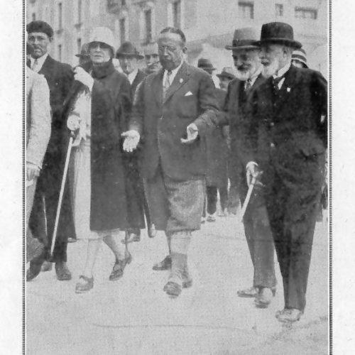 article de l'Illustration sur l'inauguration du golf de Font Rmeu en Septembre 1928 (2)