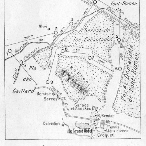 article de l'Illustration sur l'inauguration du golf de Font Rmeu en Septembre 1928 (3)