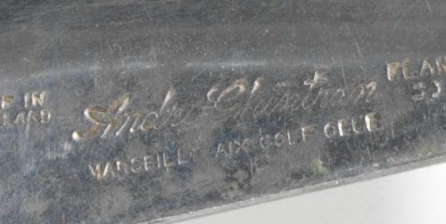 détail de l'estampille d'un club André GHINTRAN