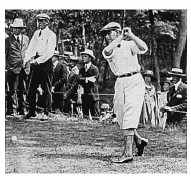 Louis TELLIER en 1915 à l'US Open