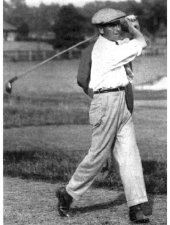 Louis TELLIER en 1919 à l'US Open