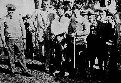 A. Massy et B. Jones en 1926 aux USA
