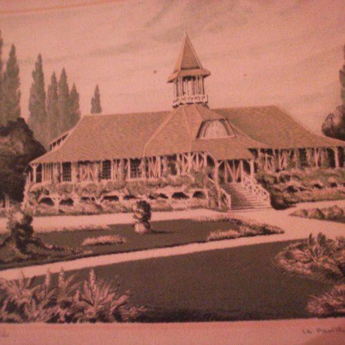 Pavillon du golf par DEVAUX
