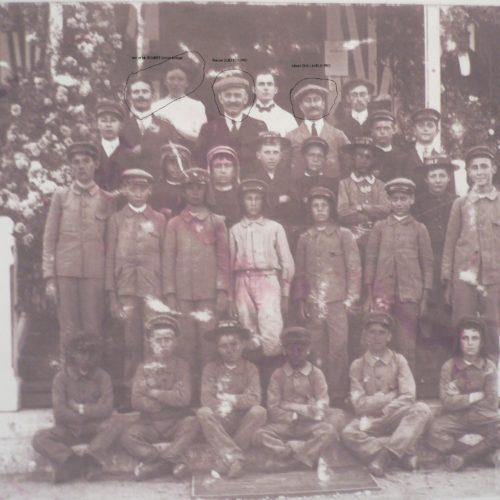 Photo du personnel en 1920