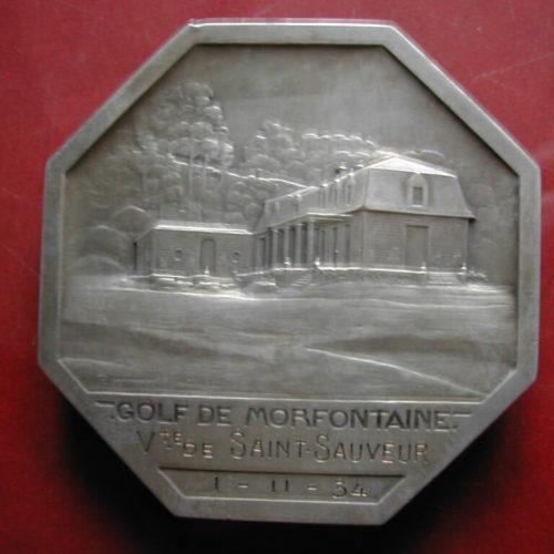 Médaille Vicomte de Saint-Sauveur 1-11-1934