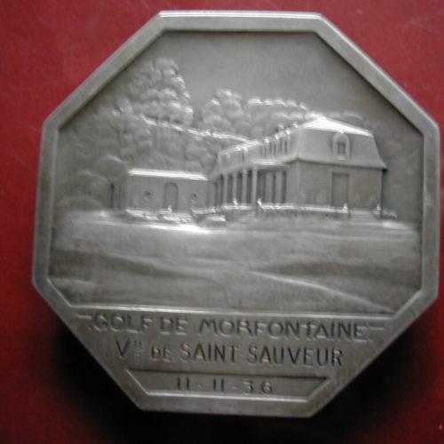 Médaille Vicomte de Saint-Sauveur 1-11-1936