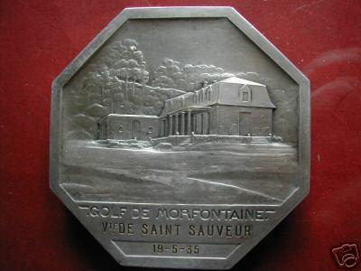médaille Vicomte de Saint-Sauveur 19-5-1935