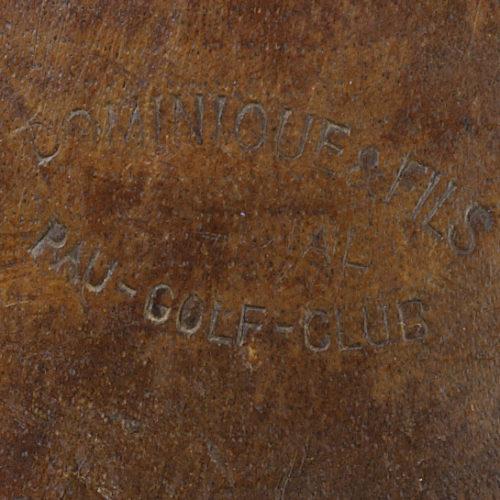 """Estampille """"DOMINIQUE ET FILS"""" (Coussies) - Pau Golf Club"""