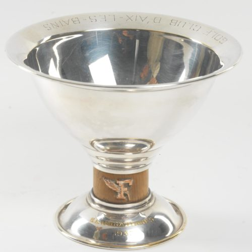 Coupe du Figaro de 1937 (Eliminatoires) du golf d'Aix les Bains par Keller