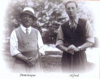Dominique et Alfred Coussies