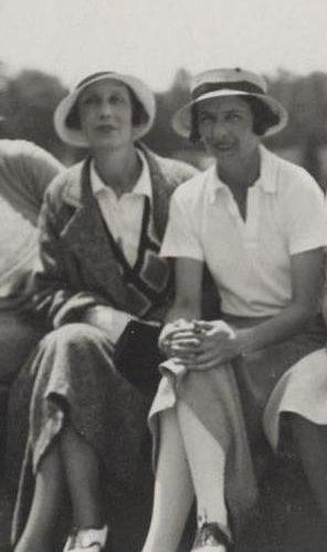 Pauline de Vilmorin et Barbara Vagliano