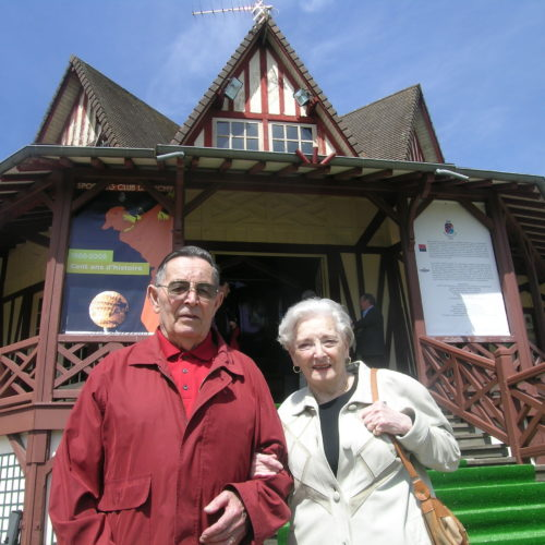 Mm Rousse et son époux