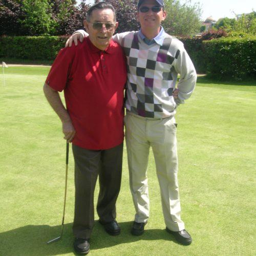 Mr Rousse 83 ans ancien caddie et berger du Golf pendant la seconde guerre mondiale