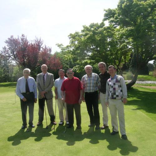 Le Président Forestier et les membres APGF