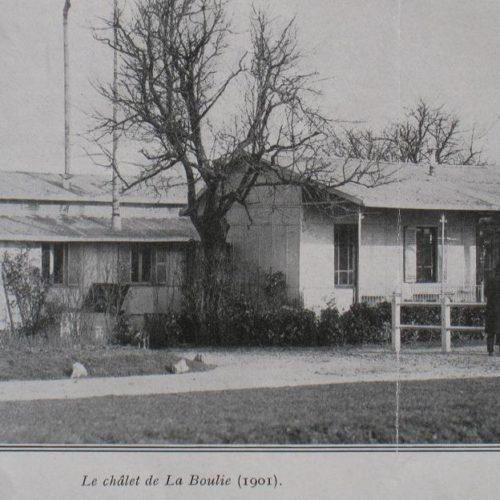 Chalet de l'Exposition Golf de Paris