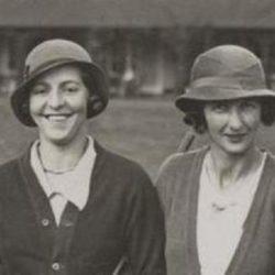 Janine Gaveau et Barbara Vagliano 1931