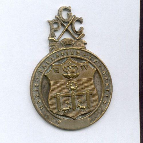 Médaille n°1 du PGC