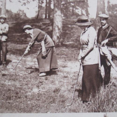 Mlle S. Boas / Championne de France 1914