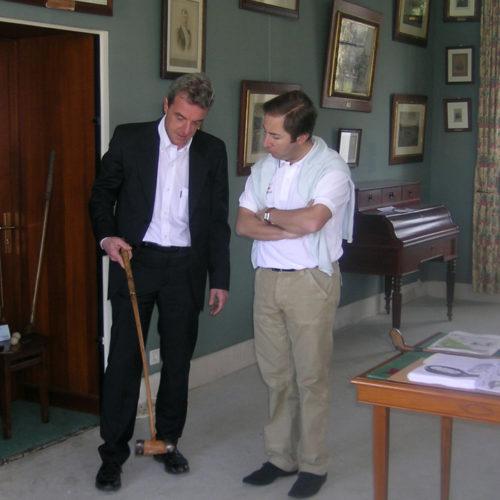 Philippe Estang et Christophe Muniésa Directeur Exécutif et DTN de la FFG