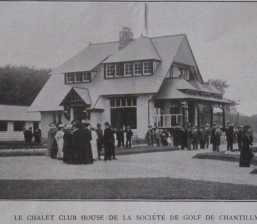 Club House 1909 / Inauguration du Golf