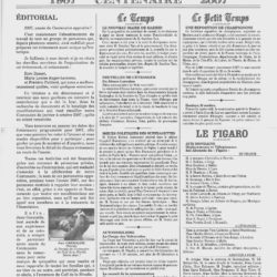 Gazette Centenaire La Nivelle page 1