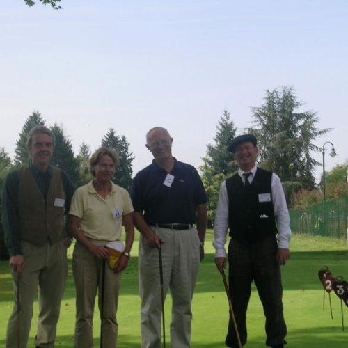 Philippe Estang, Georges Barbaret Président FFG, Jean Brice London Président APGF