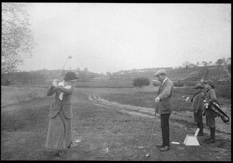 Inauguration Vallière 1913