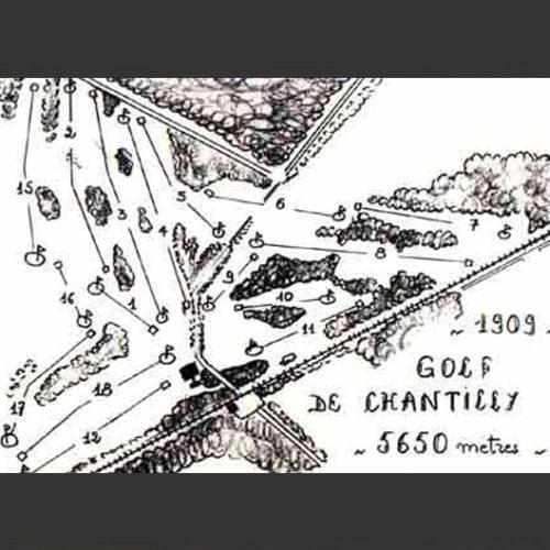 Plan du Parcours en 1909