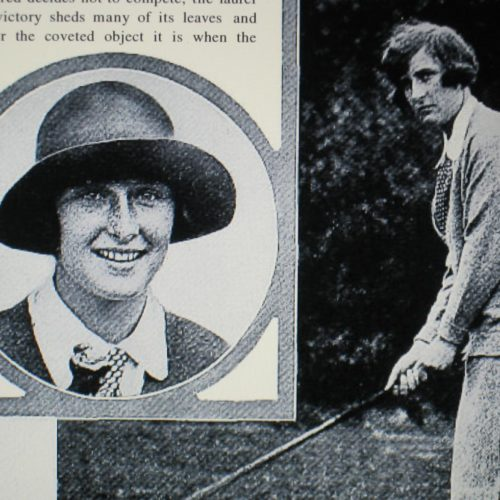 "Simone 1925 ""American Golfer"""
