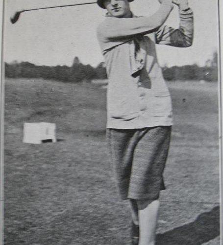 Mlle Simone Thion de la Chaume: Champione de France 1925, 1926, 1927, 1928, 1929,1930,1936, 1937, 1938