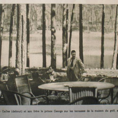 Le prince de Galles et son frère Georges Chiberta 1927