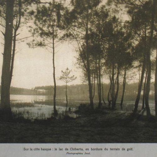 Chiberta 1927 / le lac