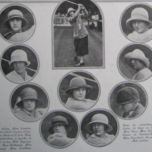 Participantes Coupe Femina 1923