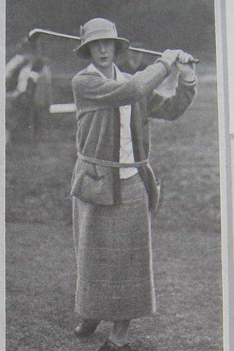 Pauline de Bellet lors de la Coupe Femina 1923