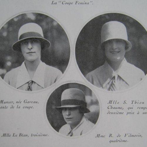 Coupe Femina 1927