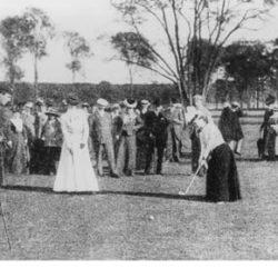 Compiègne 1900, Concours Dames