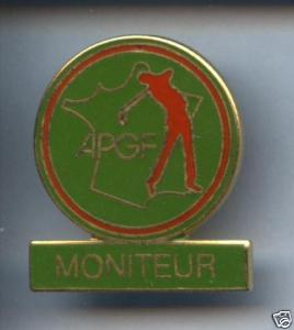 Pin's APGF moniteur