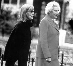 Greta Garbo et Cécile de Rothschild dans les rues de New-York