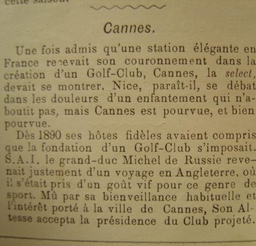 Rubrique Cannes