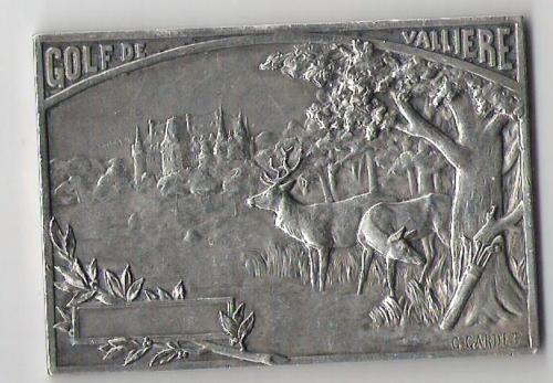 Médaille argent G Gardet Golf de Vallière Morfontaine