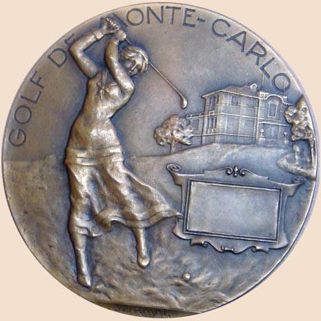 Médaille en argent de 1919 sans lauréat
