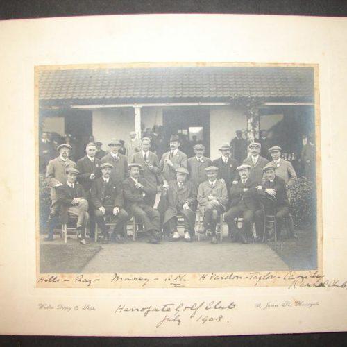 HARROGATE GOLF CLUB 1908