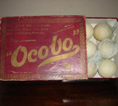 Boite de 12 balles Ocobo neuve avec ses 12 balles emballées dans du paier de soie